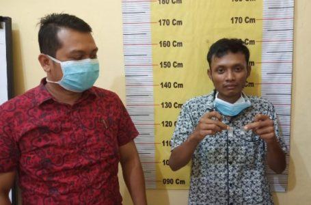 Pria Pengangguran Diringkus Satnarkoba Polres Sergai
