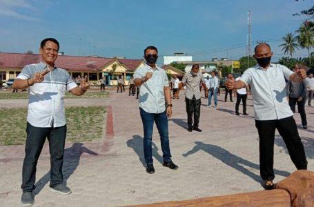 Kapolres Batubara Ajak Jajarannya Wajib Olah Raga