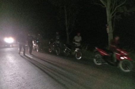 Puluhan Sepedamotor Terjaring Razia Balap Liar Polres Sergai