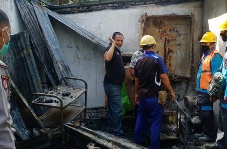 Gedung Laboratorium Analisis PSBB Bangun Bandar Terbakar