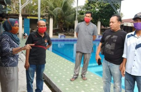 Ketua KONI Asahan Turun Langsung Monitoring Latihan Atlit Renang di Tengah Wabah Covid-19