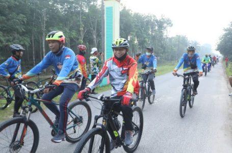 Jaga Kesehatan dan Tingkatkan Imun Tubuh, Bupati Asahan Rutin Gowes Bersama Komunitas Sepeda