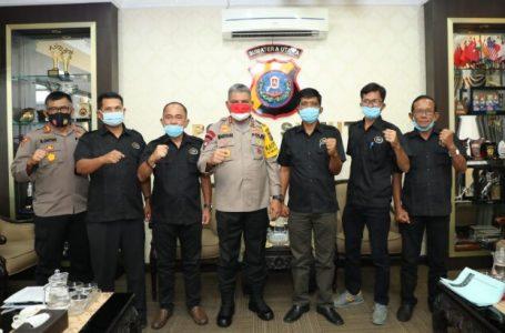 Kapolda Sumut Silaturrahmi dan Audiensi Dengan Kelompok Tani Maju Lestari Indonesia Sumut