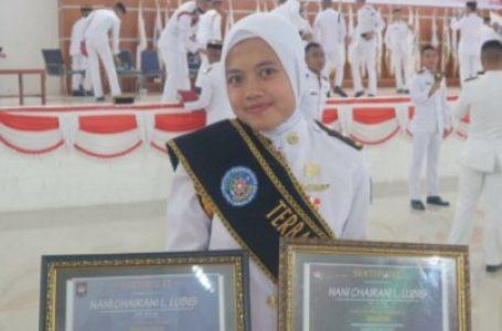 Putri Asal Labusel Raih Dua Penghargaan Terbaik 3 IPDN Sulawesi Utara