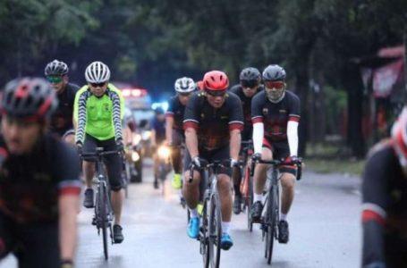Jaga Stamina dan Kebugaran Tubuh, Kapolda sumut Bersepeda Bersama Sekaligus Sapa Masyarakat
