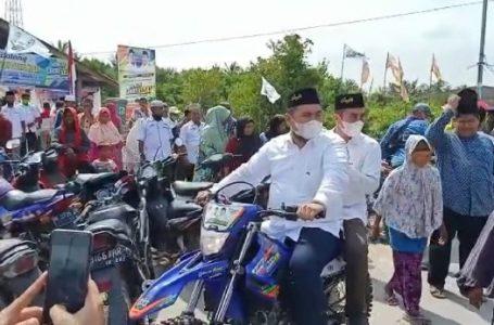 Pasangan Hebat Resmikan Posko Relawan di Tanjung Leidong