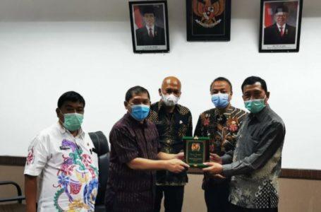 Bupati Karo Terima Kunjungan Pemerintahan Demak Jawa Tengah