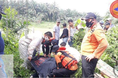 Empat Hari Dicari Tim SAR Gabungan, Dafitri Korban Hanyut di Sungai Silau Kisaran Akhirnya Ditemukan