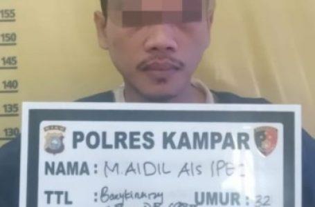 Ditangkap Satreskrim Polres Kampar, Pelaku Pencurian Ternyata Terlibat Kasus Penggelapkan Sepeda Motor