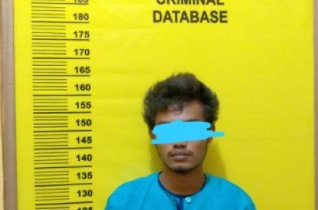 Patroli Ops Yustisi, Kanit Sabhara Polsek Sungai Mandau Tangkap Pelaku Penyalahguana Narkotika