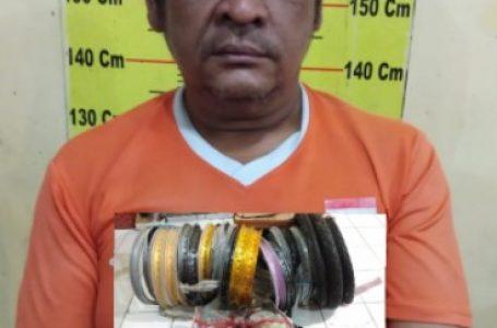 Polsek Delitua Tangkap Pelaku Pembongkar Rumah