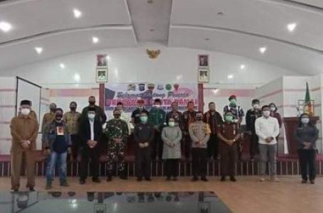 Forkopimda Kabupaten Karo Gelar Deklarasi Damai