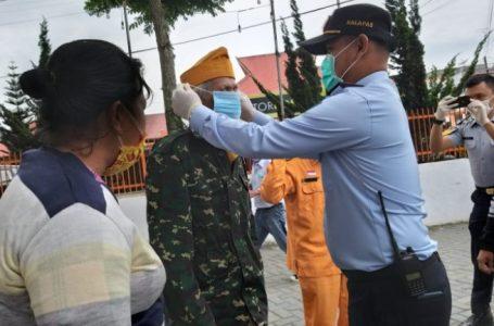 Sambut Hari Karya Dharma Dhika 2020, Rutan Kabanjahe Bagikan Masker dan Vitamin C