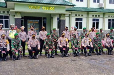 HUT TNI Ke- 75, Kapolres Batubara Kunjungi Kodim AS dan Batalyon KC