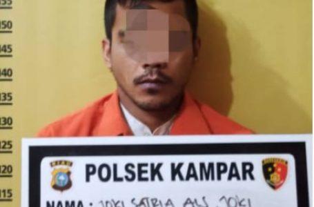 Tim Opsnal Polsek Siak Hulu Tangkap Pelaku Pengeroyokan