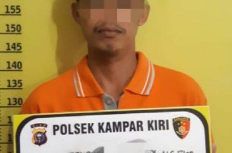 Polsek Kampar Kiri Ungkap Kasus Pembunuhan Dalam Keluarga