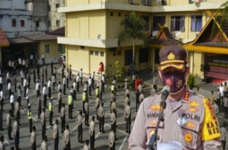 Kapolresta Pekanbaru Kembali Ingatkan Netralitas Polri di Pilkada Serentak 2020