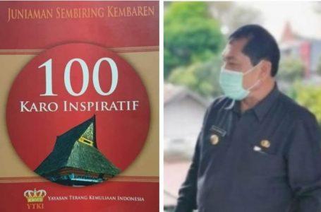 Terkelin Brahmana Masuk Kategori 100 Karo Inspiratif YTKI