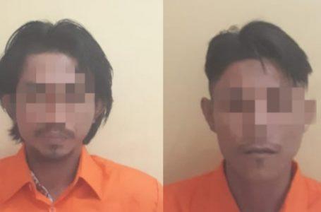 2 Pelaku Narkoba Diserahkan Warga Karya Indah Tapung ke Polisi