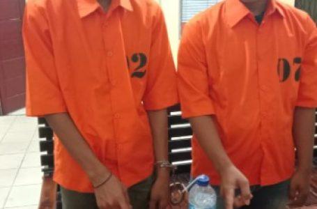 2 Pelaku Narkoba Diciduk Tim Opsnal Polsek Tapung di Desa Bencah Kelubi