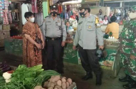 Koramil 0201-02/MT dan Polsek Medan Timur Gelar Patroli Himbauan Protkes