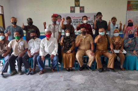 Hadiri Musrenbang, Camat Kisaran Barat Terima Usulan Prioritas di Kelurahan Mekar Baru