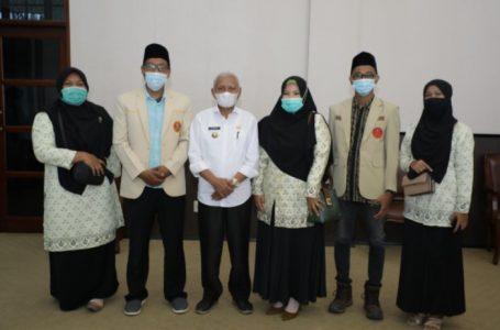 Terima Audiensi Pemuda Muhammadiyah, Bupati Asahan Berharap Kontribusi Pemuda Dalam Pembangunan