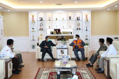 Wali Kota Diskusi Soal Sampah Bersama Pengurus DPD PKS Pekanbaru
