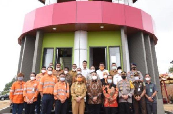 Bupati Tapsel Resmikan Menara Pandang dan Soft Launching KRSTS