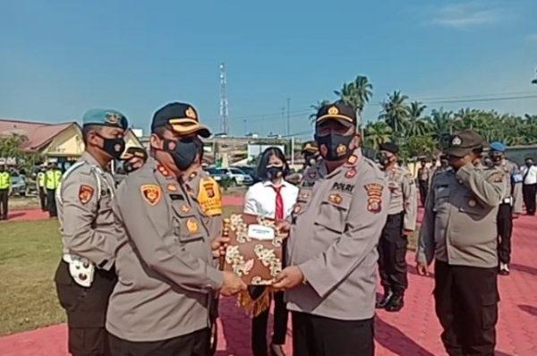 5 Perwira Polres Batubara Dapat Penghargaan dari Kapoldasu