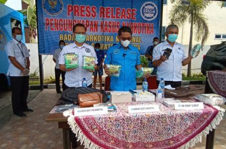 BNNP Sumut Ungkap Penyelundupan Sabu Dalam Pisang Sale