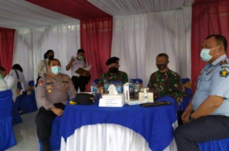 Kapolsek Medan Helvetia Hadiri Apel Deklarasi Pencanangan ZI Menuju WBK dan WBBM