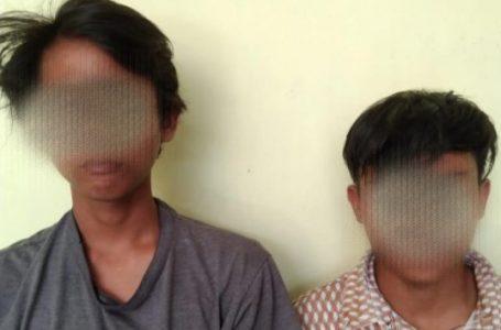 Dua Remaja Keciduk Simpan Ganja di Kotak Rokok