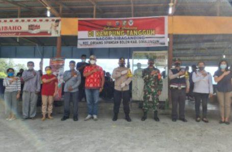 Kapolres Simalungun Kunjungi Kampung Tangguh Desa Sualan Nagori Sibaganding