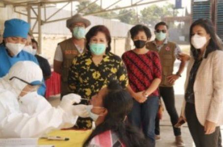 Wakil Bupati Karo Dukung Direktur PT JBE Tanggulangi Penyebaran Covid-19