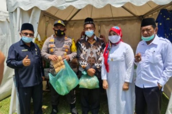 Kapolres Simalungun Ajak Peserta UMKM Tetap Jalankan Roda Perekonomian di Masa Pandemi Covid-19