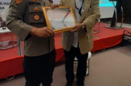 Kapolres Sergai Raih Award Piagam Penghargaan BPI KPNPA RI