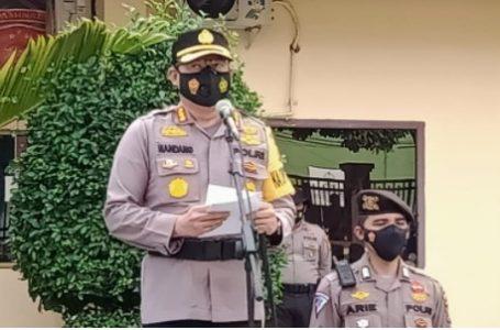 Kapolresta Pimpin Apel Gelar Peralatan dan Patroli Terpadu Karlahut Kota Pekanbaru