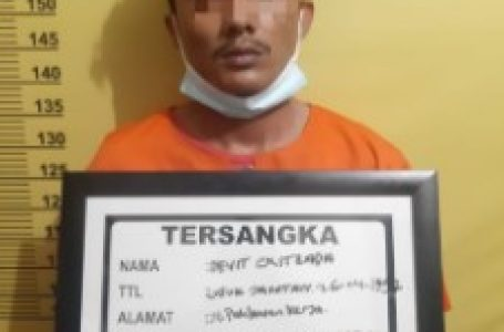 Edarkan Sabu di Pekanbaru, Pemuda Muara Mahat Tapung Masuk Sel Polsek Bukit Raya
