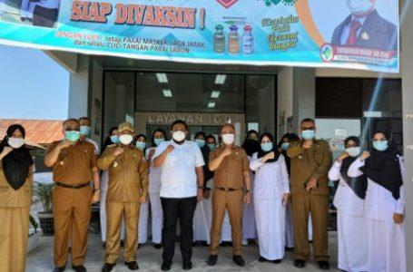 Wali Kota HM Syahrial Monitoring Langsung Vaksinasi di Puskesmas Semula Jadi