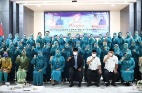Wali Kota HM Syahrial Hadiri Pelantikan Pengurus TP-PKK Kecamatan se-Kota Tanjungbalai