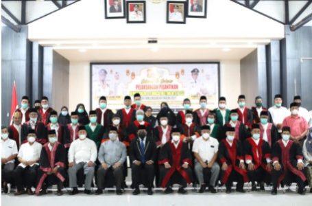 Wali Kota HM Syahrial Lantik Dewan Hakim MTQN Ke- 53 Kota Tanjungbalai