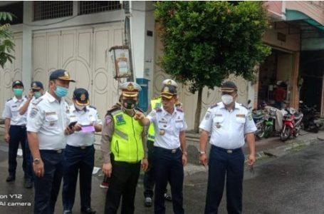 Sat Lantas Polrestabes Medan Tinjau Lokasi Kuliner Kesawan Square