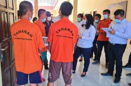 Polrestabes Medan Rekonstruksi Pembunuhan Djie Goon, Keluarga Minta Pelaku Dihukum Berat
