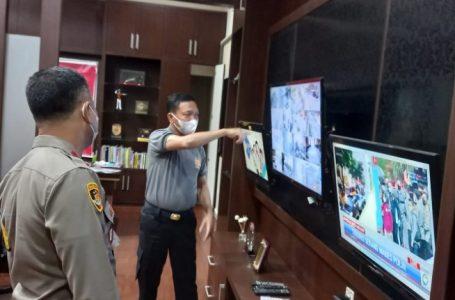 Kapolres Sergai Pimpin Rapat Sistem Pengamanan Mako Antisipasi Penyerangan Teroris