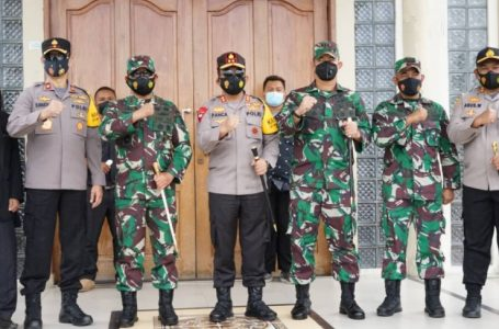 Kapolda Sumut Bersama Pangdam I/BB Pantau Jalanya Perayaan Ibadah Paskah di Gereja Huria Kristen Batak Protestan Resort Parapat