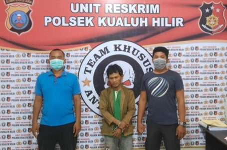Tekab Polsek Kualuh Hilir Sikat Bandar Sabu Tanjung Leidong