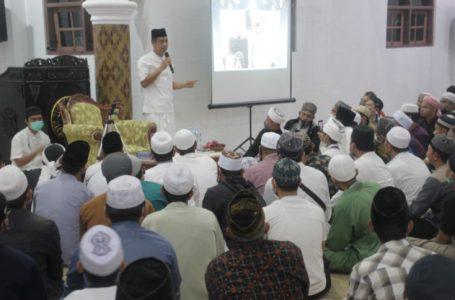 WalikotaSiantar Hadiri Tarhib Ramadhan dan Roadshow Bersama Ustadz Derry Sulaiman