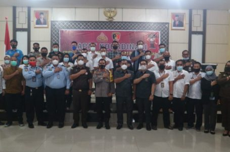 Bahas Masalah Tahanan, Kapolres Sergai Gelar Rapat Koordinasi CSJ