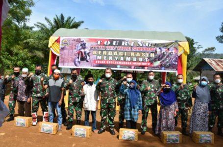 Danrem 023/KS Bersama PJU Touring dan Bakti Sosial Sambut Bulan Ramadhan